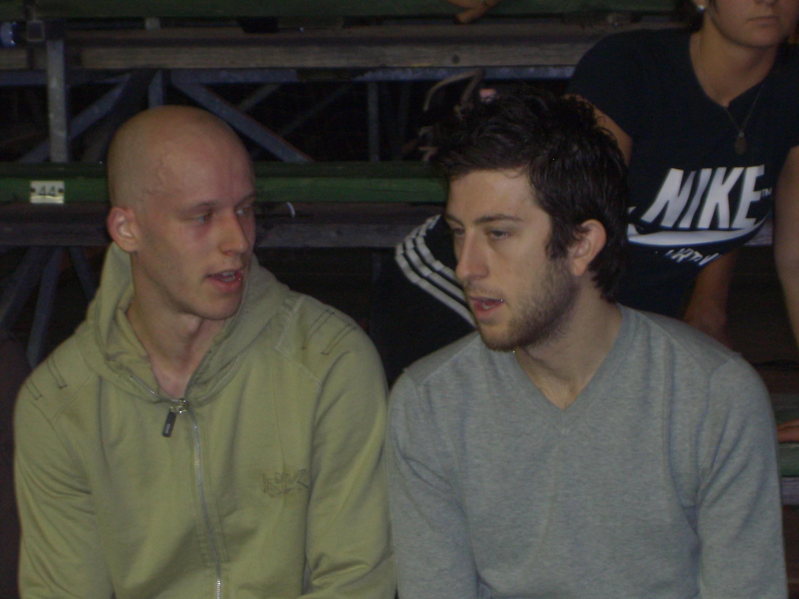 Olli Tuominen (PSA 17) ja Daryl Selby (PSA 36)