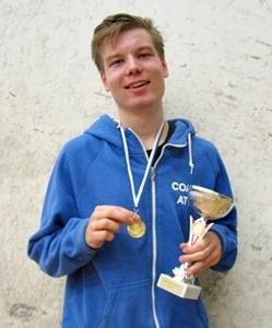 Pojat alle 19 voittaja Atte Mäkinen, ESRC