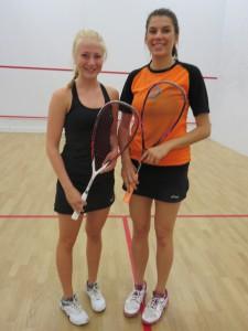 Emilia Korhonen ja Samantha Ward
