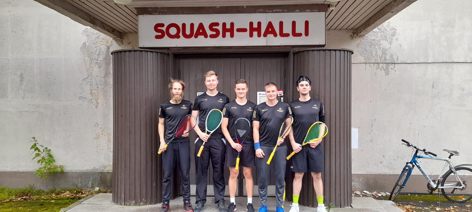ESRC:n joukkueiden Squashliiga-kierros 25.9.2021